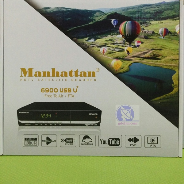 Receiver HD, Manhattan USB6900 U+,Receiver Parabola