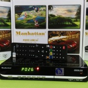 Receiver Parabola PowerVU  Manhattan USB6900 W+